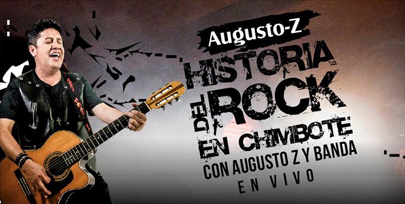 Concierto de rock ofrecer augusto z y su banda en el for Espectaculo historia del rock