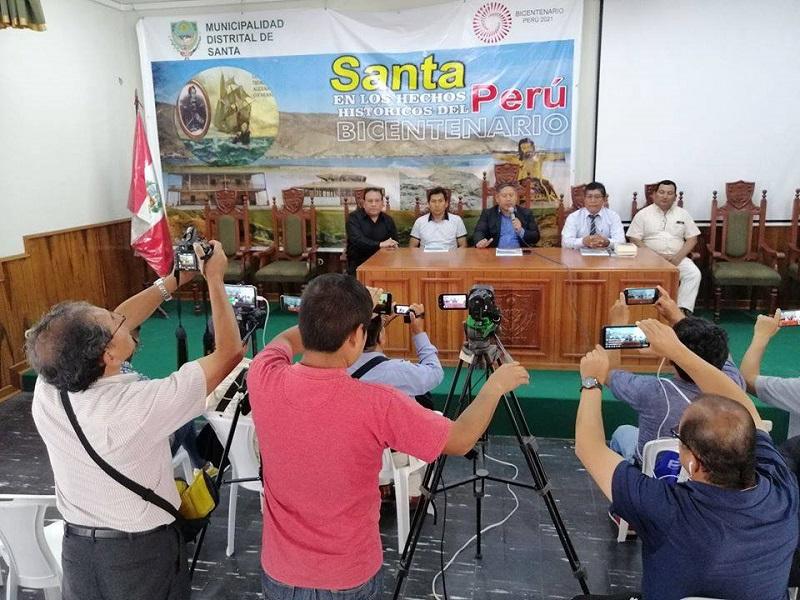 Organizan diversas actividades por Bicentenario del Puerto de Santa y su participación en la Independencia del Perú - Diario Digital Chimbote en Línea