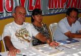 Fiorella Nolasco y varios dirigentes gremiales y políticos irán este martes al Congreso de la República.