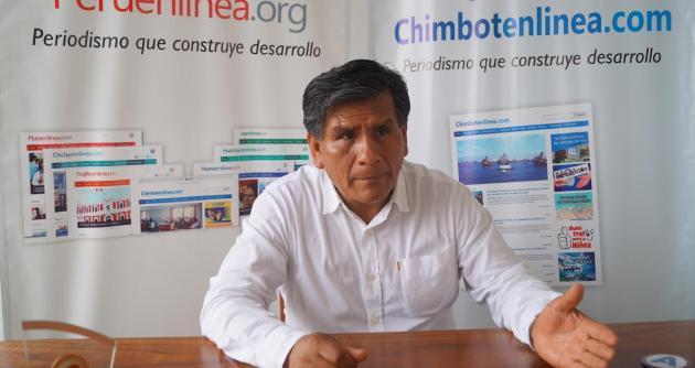 Lombardo Mautino, ex alcalde de Huaraz.