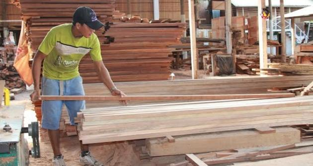 Muebles escolares son producidos con madera de bosques for Muebles escolares